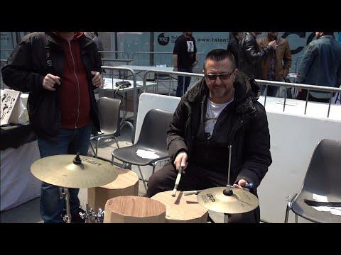 ATON Cajon Drumset @Maxx Furian, Giovanni Giorgi #FIM2019Milano