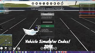 roblox vehicle simulator codes videos, roblox vehicle ...