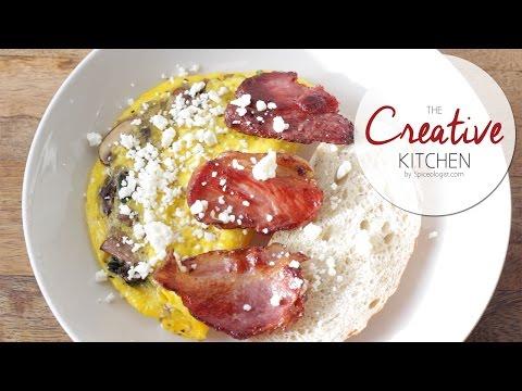 Greek Freak Mediterranean Omelette Recipe   Spiceologist.com