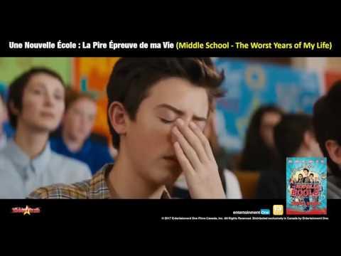 Une Nouvelle École : La Pire Épreuve de ma Vie (Middle School - The Worst Years of My Life)