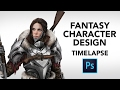 Gambar cover Queen of Wolves - Character Design Process Timelapse