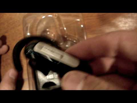 Unboxing Plantronics Bluetooth Headset