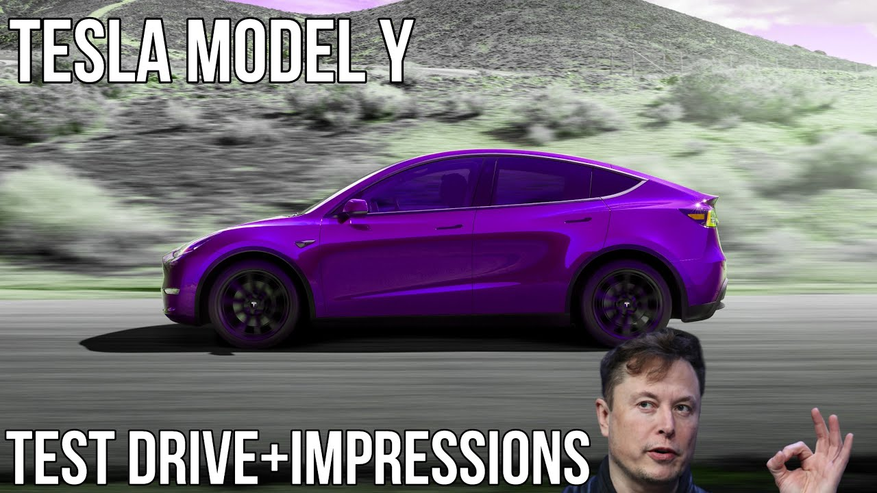 Tesla Model Y Initial Impressions and Contactless Test Drive Experience | Compared to Model 3 | Vlog
