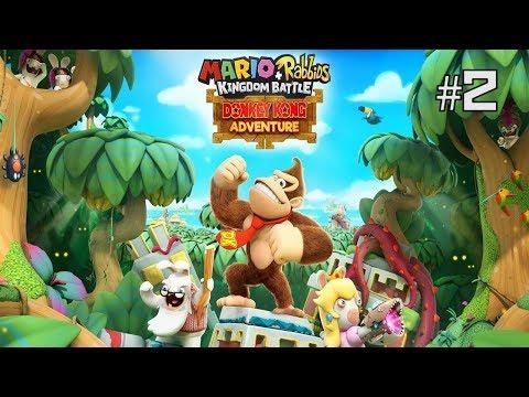 Twitch Livestream | Mario + Rabbids Kingdom Battle DK Adventure DLC Part 2 (FINAL) [Switch]