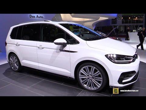 2016 Volkswagen Touran R-Line 2.0 TDI - Exterior and Interior Walkaround - 2015 Geneva Motor Show