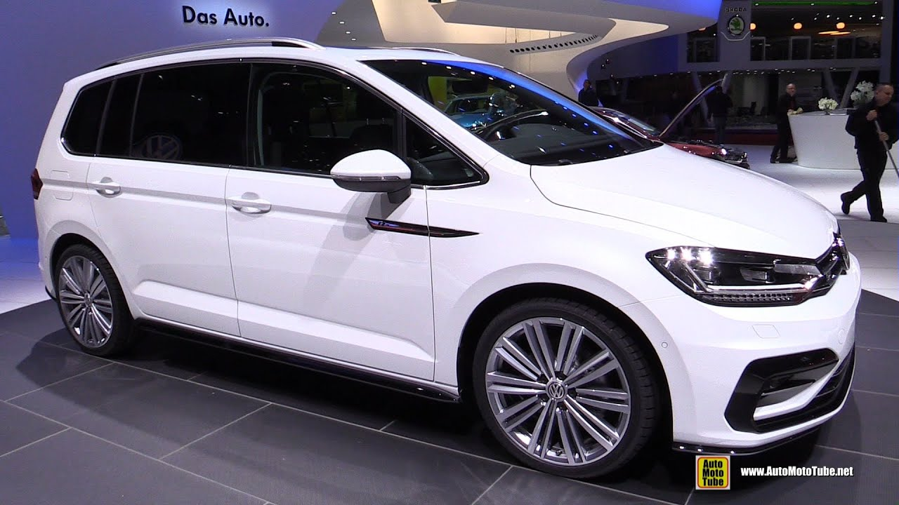 2016 volkswagen touran r line 2 0 tdi exterior and interior. Black Bedroom Furniture Sets. Home Design Ideas