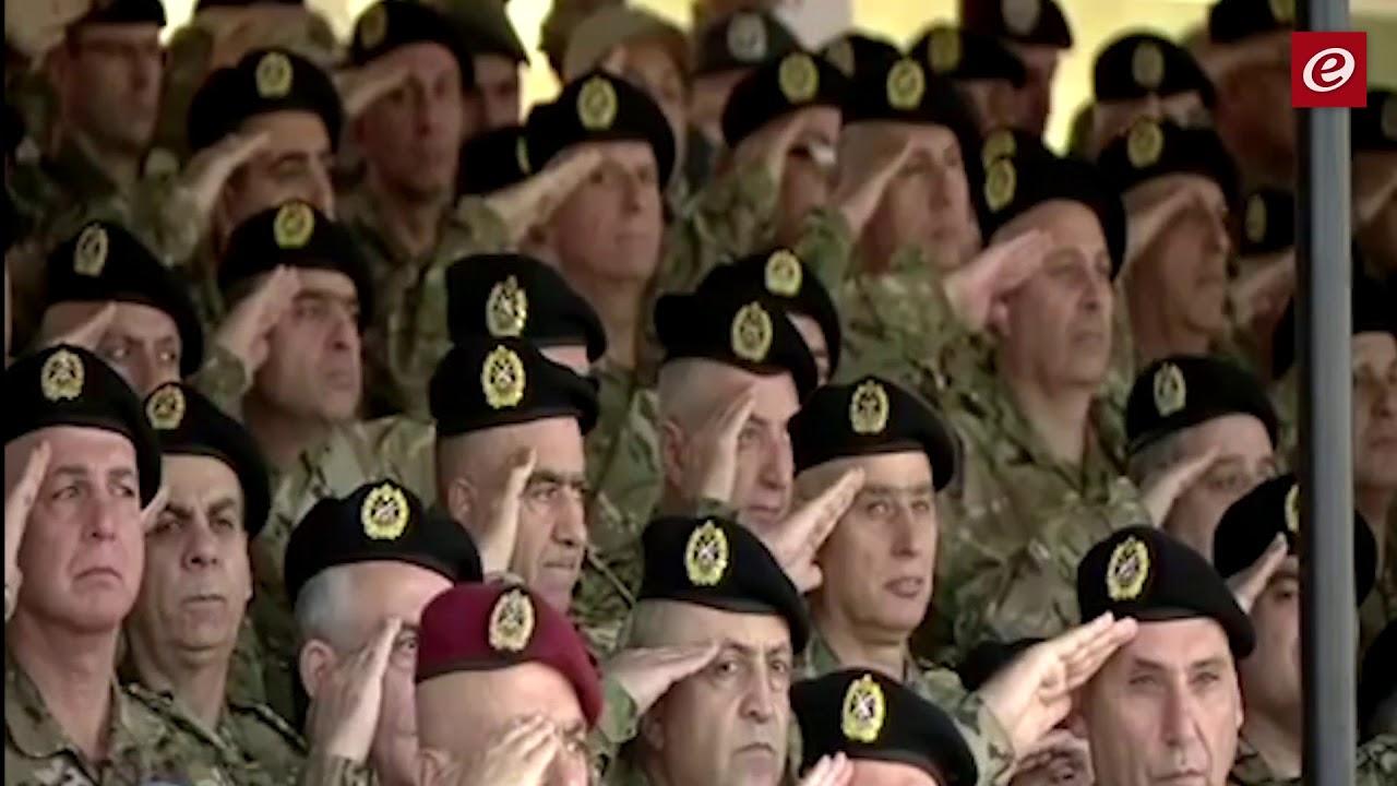 عرض عسكري لمناسبة الذكرى الرابعة والسبعين للإستقلال برئاسة الرئيس عون
