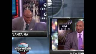 Brendan and Barkley Exchange Friendly March Madness Jabs!