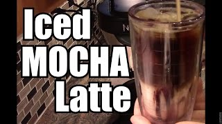 Iced MOCHA Latte - Ninja Coffee Bar