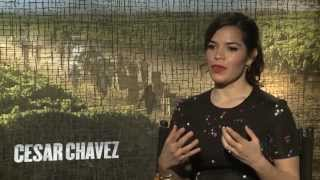 America Ferrera On Playing Great Woman Behind Cesar Chavez