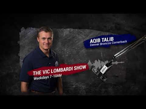Aqib Talib joins The Vic Lombardi Show