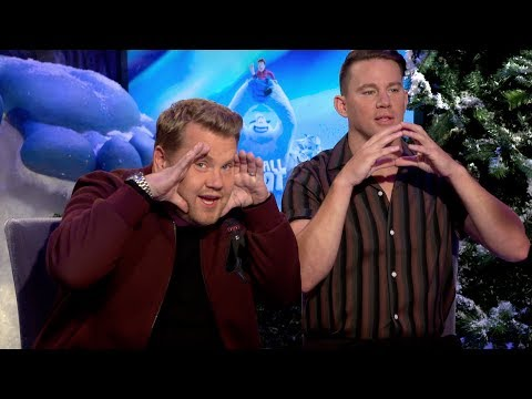 SMALLFOOT: Hilarious Channing Tatum and James Corden