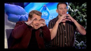 SMALLFOOT: Hilarious Channing Tatum and James Corden Interview