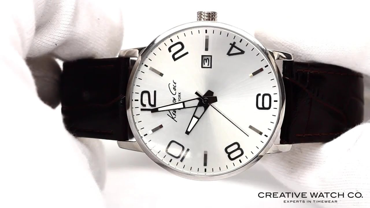 578a189d6b0 Hands On With The Men s Kenneth Cole Watch KC8006 - YouTube