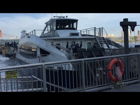 NYC Ferry Ride on the Rockaway Line from Wall St/Pier 11 Terminal to Rockaway Terminal