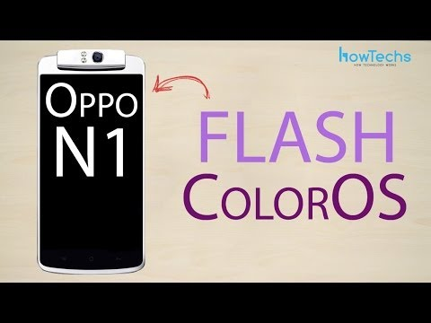 Oppo N1 - How to flash ColorOS