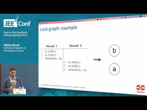 How to find deadlock without getting into it (Nikita Koval, Software Engineer at Devexperts)
