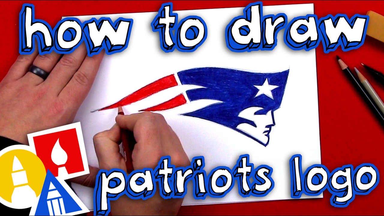How To Draw The Patriots Logo Youtube