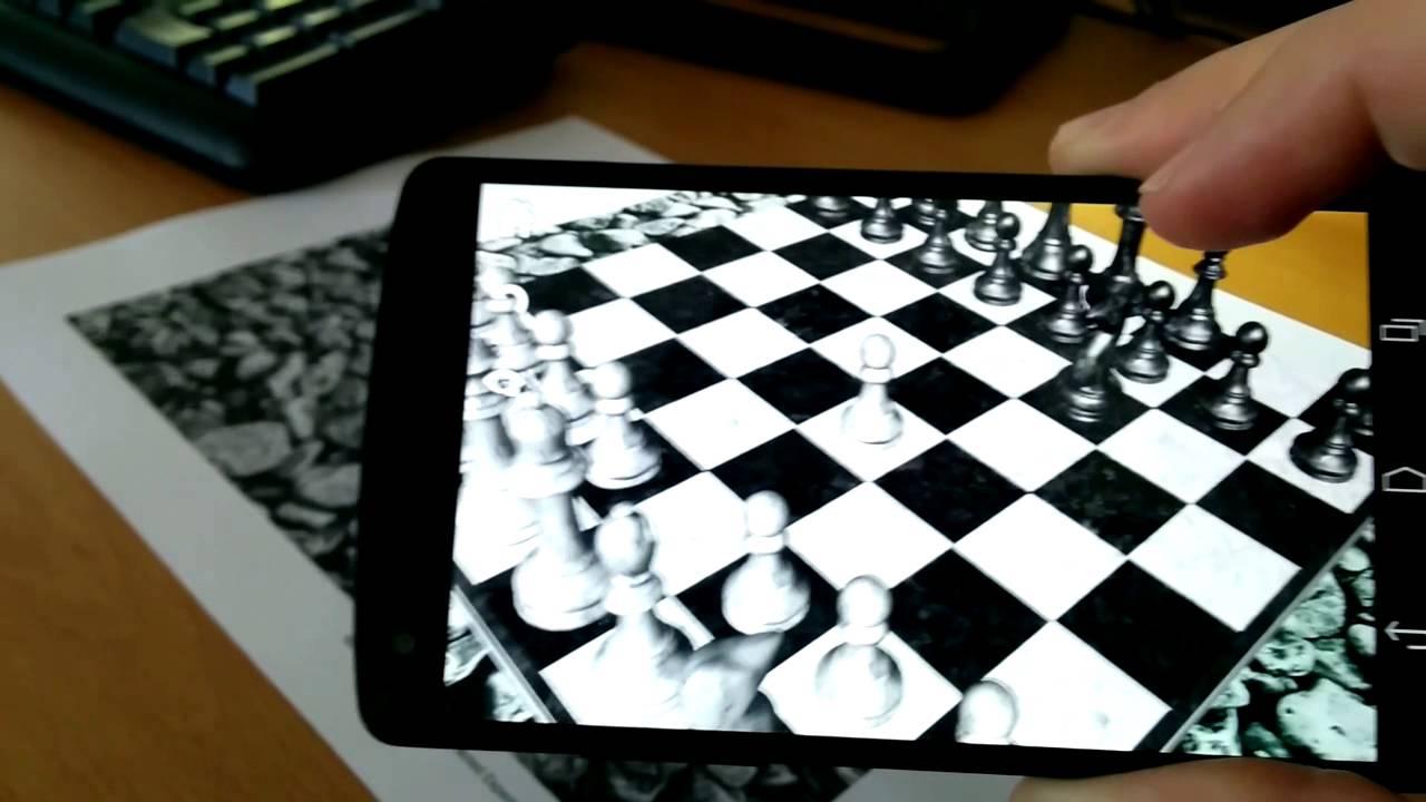 AR chess app