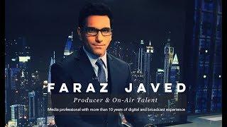 TV News Reporter/Anchor Reel - Faraz Javed (info@farazjaved.com)