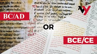 BC/AD or BCE/CE?