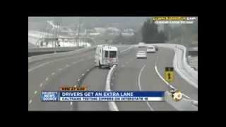 Trafik Hangi Tarafta Yoğunsa O Tarafa Şerit Açan Araç