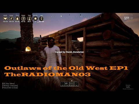"""Outlaws of the Old West EP1 """"Left For Dead"""""""