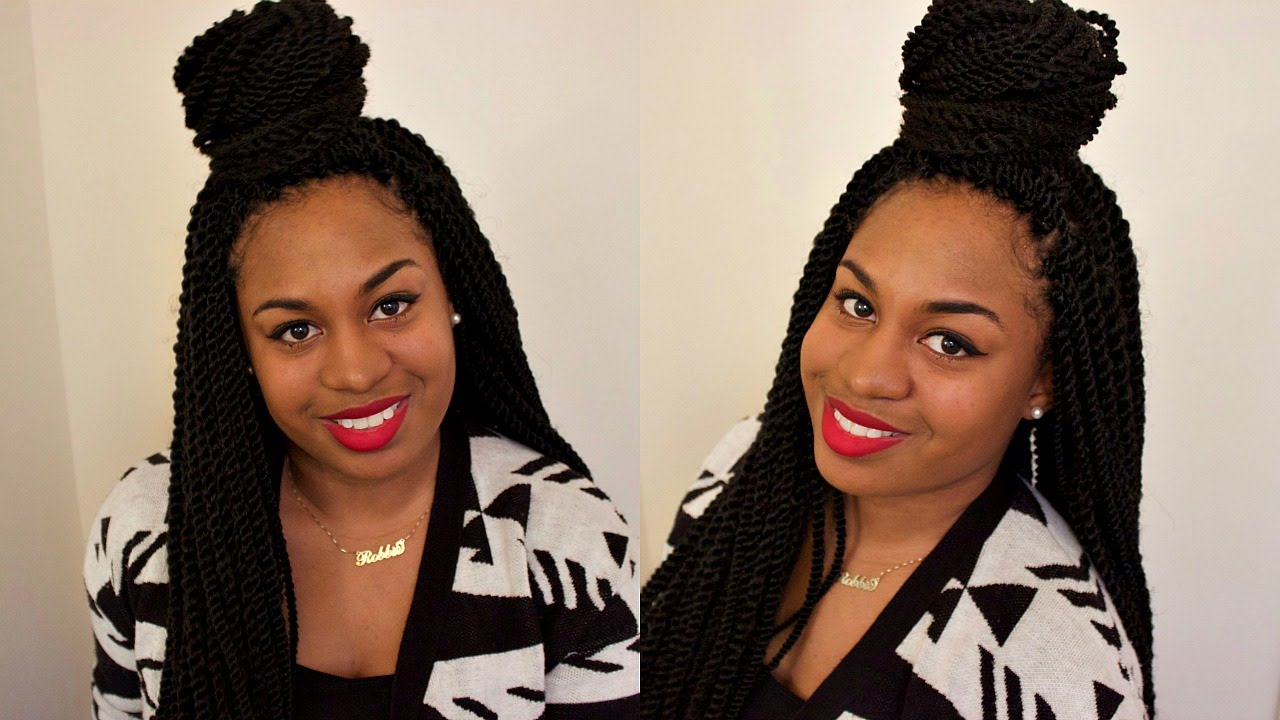 Attractive Crochet Senegalese Twist | 3 Styles   Youtube