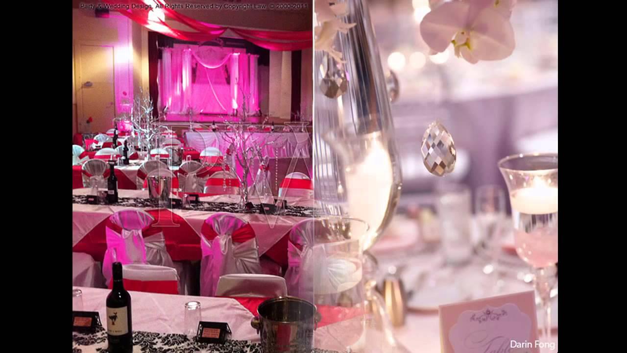 Pink And Purple Wedding Decoration Ideas 24 best Wedding decor ...