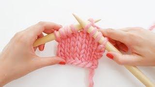 comment tricoter à l'envers