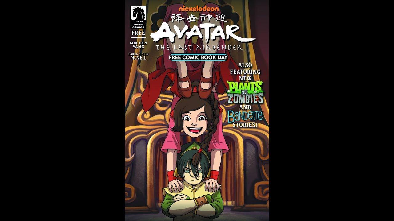 Korra news update 2015 avatar free comic book day issue youtube