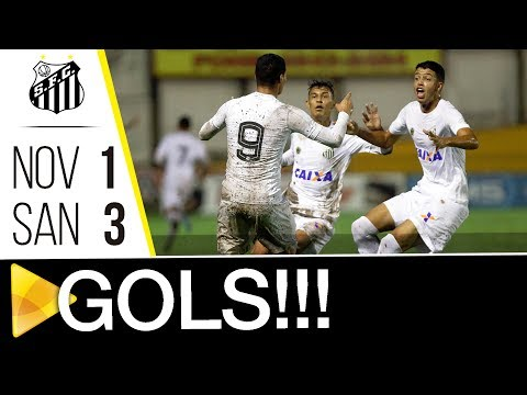 Novorizontino 1 x 3 Santos | GOLS | Copa SP (08/01/18)