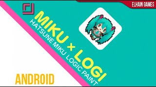 Hatsune Miku Logic Paint - Android - Gameplay and Features screenshot 4