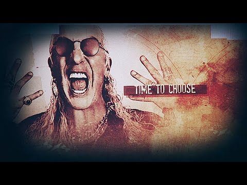 """Dee Snider - Time To Choose - ft. George """"Corpsegrinder"""" Fisher (Lyric Video)"""