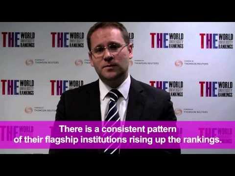 THE World Reputation Rankings 2013 - Asian Universities