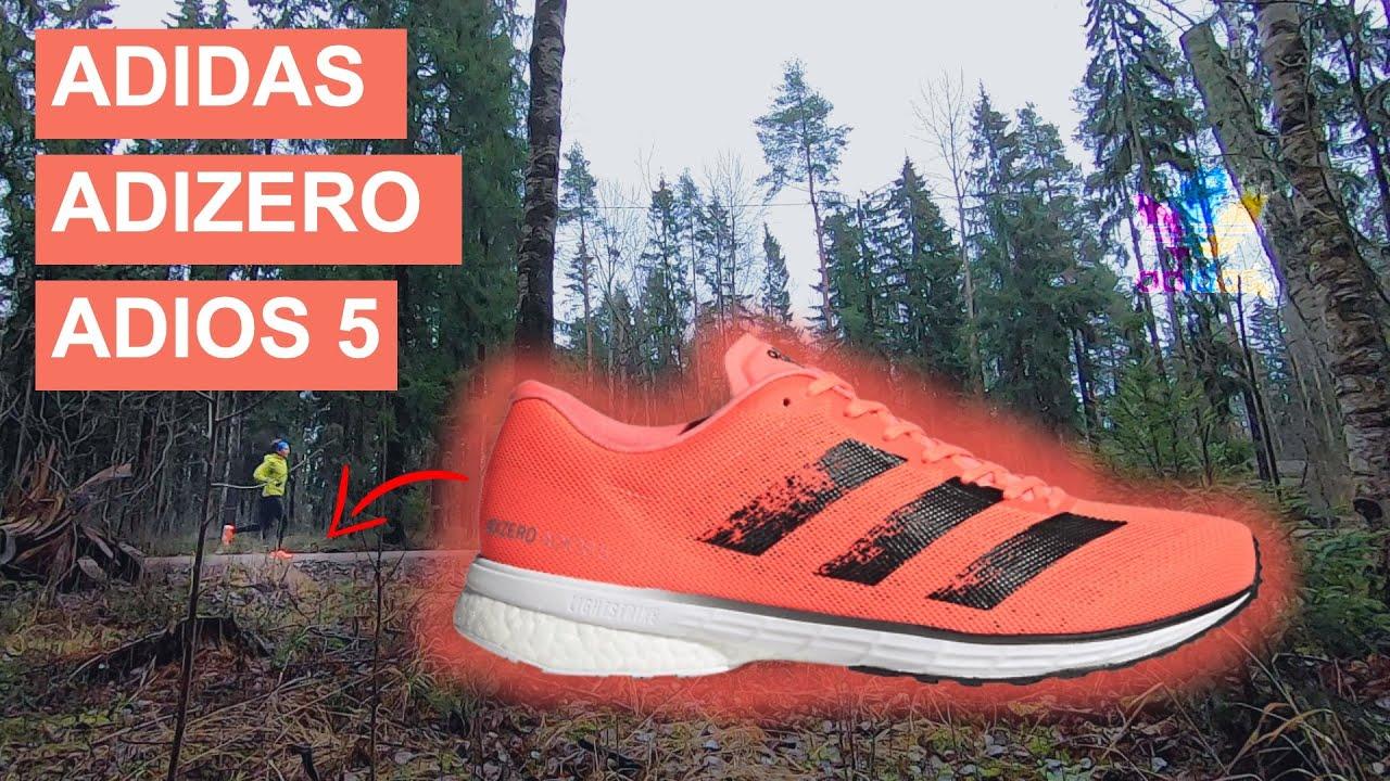 Test : Chaussures Adidas Adizero Adios 3 Captain Running