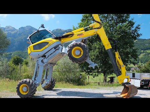 6 Amazing Construction, Agriculture, Woodworking And Energy Machines At Work