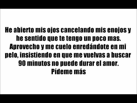 90 minutos - India Martinez (Lyrics - Letra oficial) (HD)