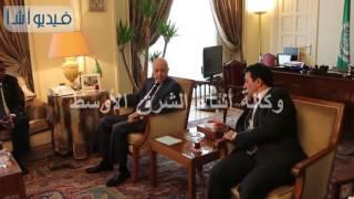 بالفيديو  فوتو اب الاجتماع الطارئ علي مستوي المندبين الدائمين برئاسة البحرين بجامعة الدول العربية