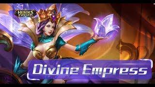 Heroes Evolved: Cleopatra New Skin - Divine Empress