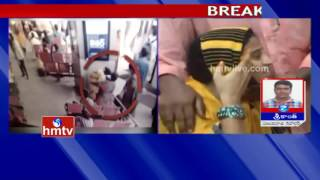 Infant Baby Missing Case In Vijayawada   Woman Caught On CCTV Footage   HMTV
