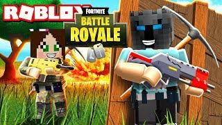 PopularMMOs Pat and Jen Roblox: Fortnite Battle Royale - Custom Mod