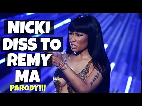 nicki-minaj-diss-to-remy-ma|-nicki-minaj-finally-responds-to-remy-ma-parody-|-iamlindaelaine