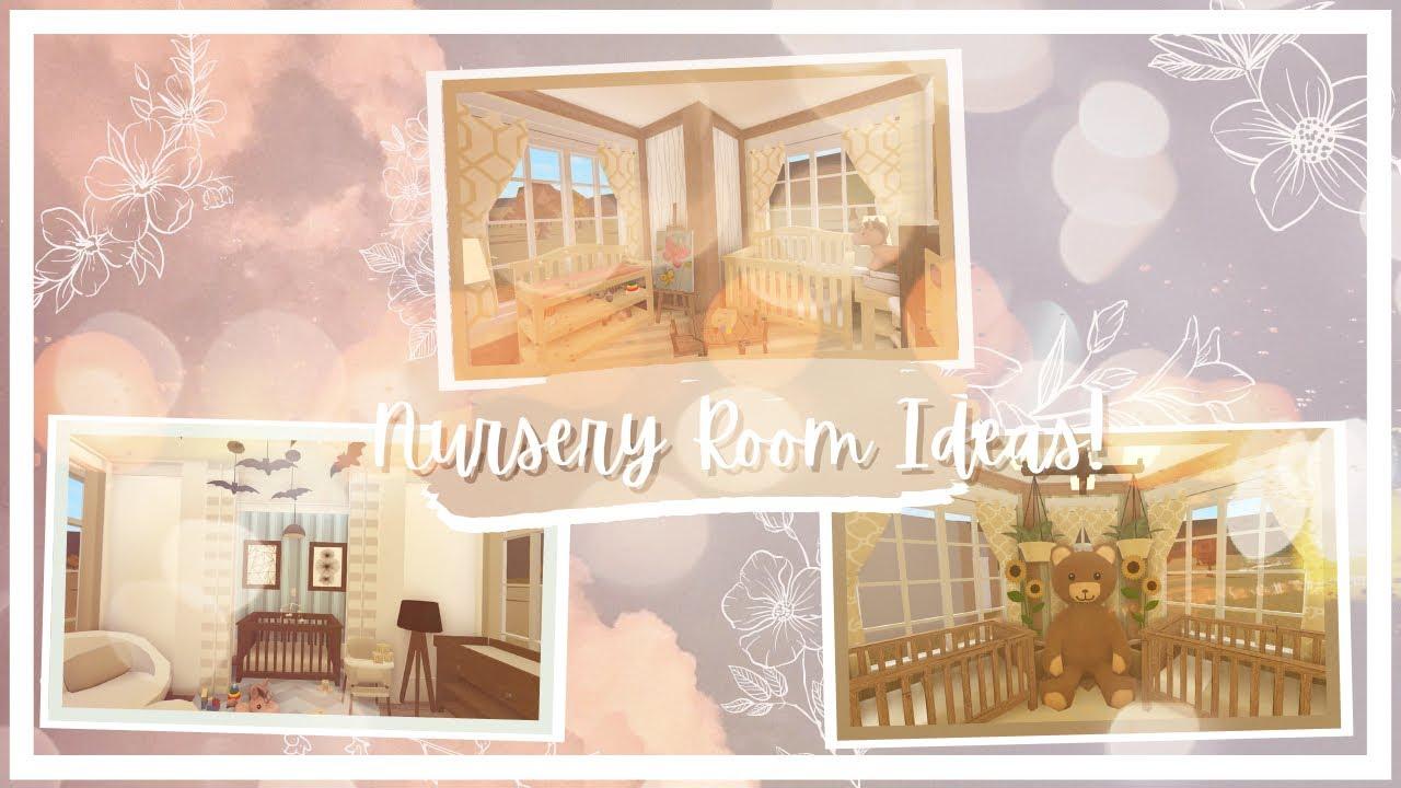 Roblox | Bloxburg | No Gamepass Nursery Rooms Ideas Speedbuild | Tapioca - YouTube
