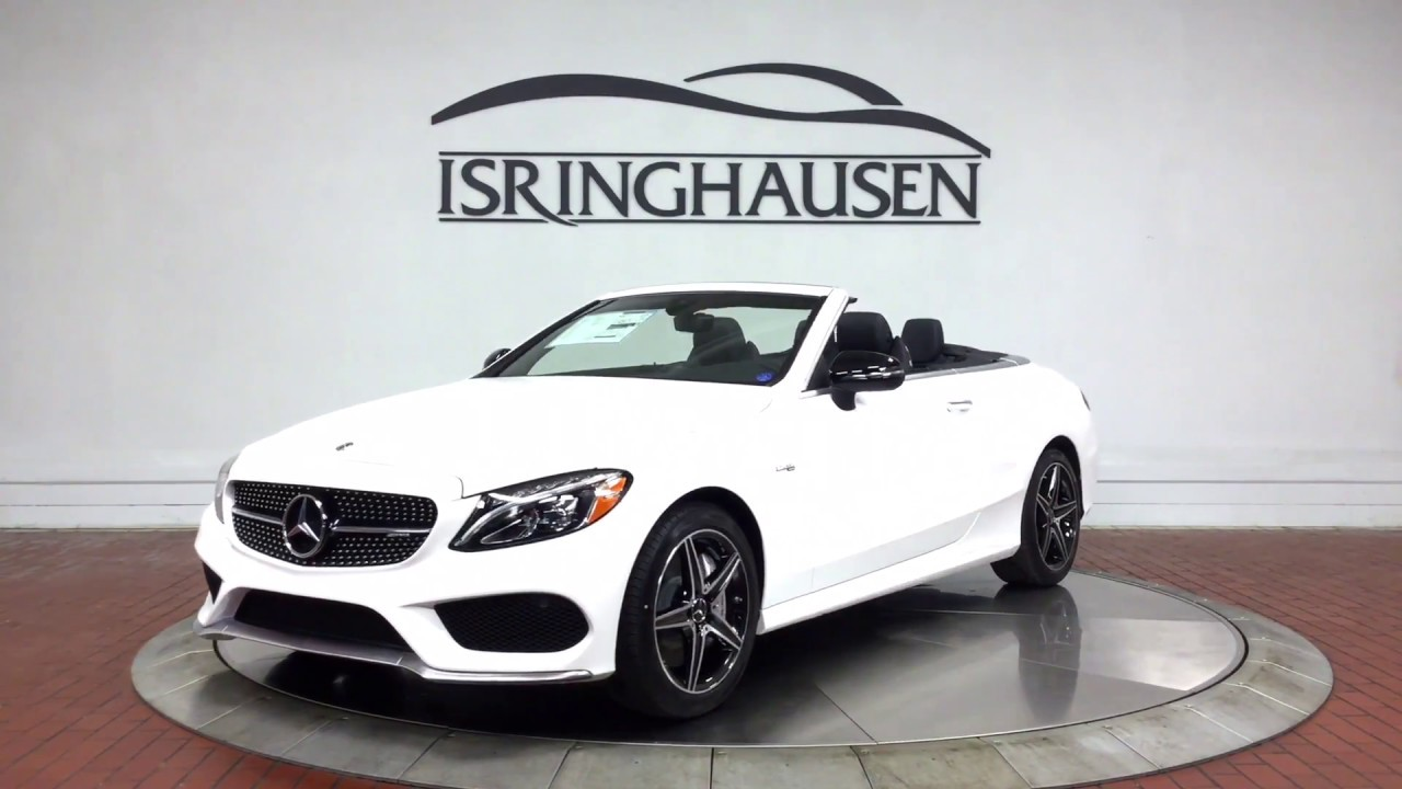 2018 Mercedes Benz Amg C 43 Cabriolet In Polar White 683028