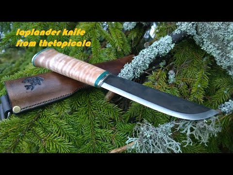 How to make Saami Leuku -  Laplander knife