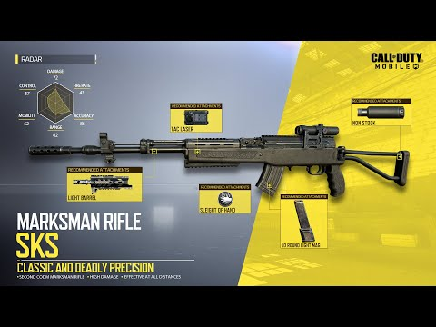Call of Duty®: Mobile S1 New Weapon | SKS Marksman Rifle