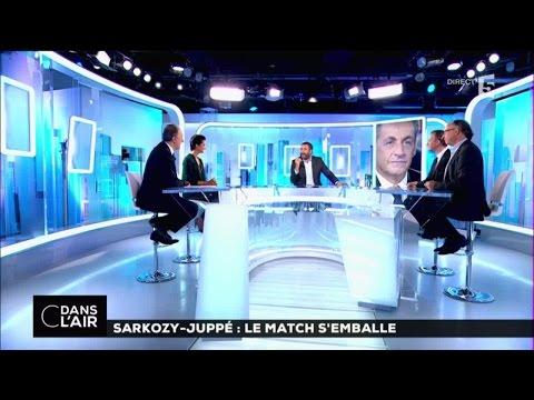 Sarkozy - Juppé : le match s'emballe #cdanslair 16-09-2016