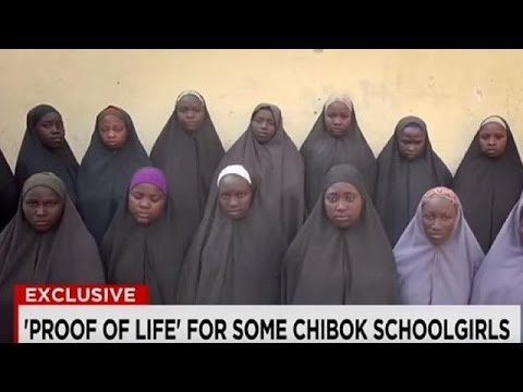 Nigeria: Chibok girls shown alive in fresh Boko Haram video thumbnail
