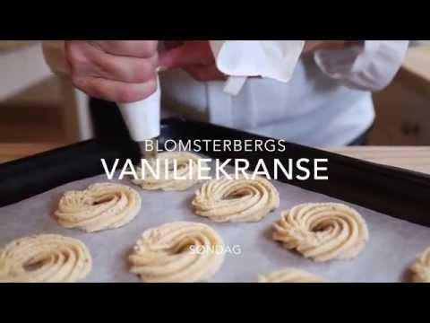Avanceret Mette Blomsterberg laver vaniljekranse - YouTube PS15